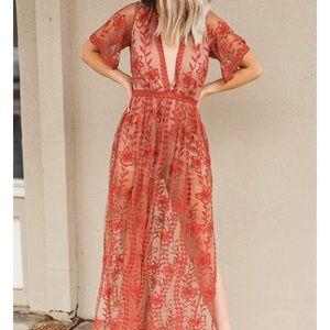 Beautiful New Orange Dress from DressUp